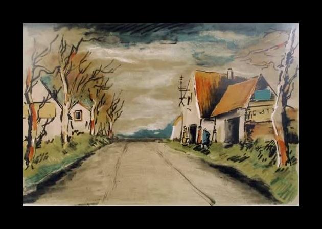 The Road, 1958 - Maurice de Vlaminck
