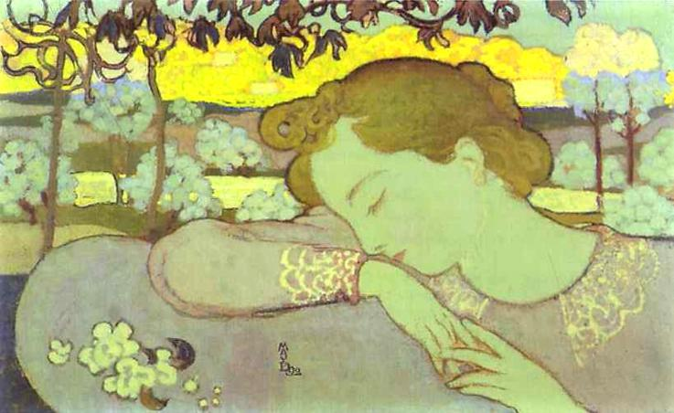 Sleeping Woman, 1892 - Maurice Denis