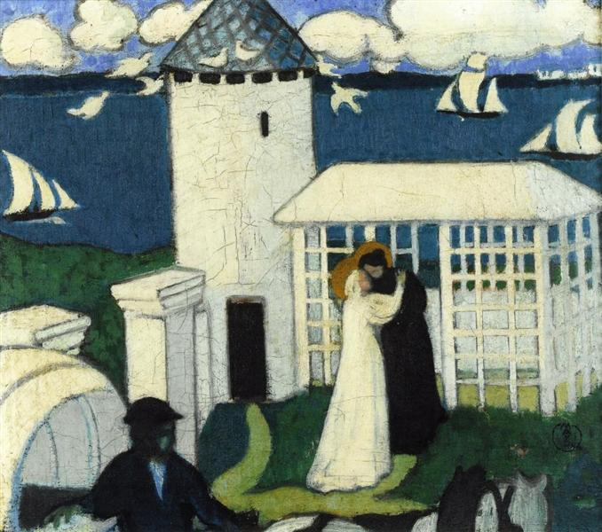Visitation in Blue - Maurice Denis