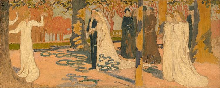 Wedding Procession, c.1892 - Maurice Denis