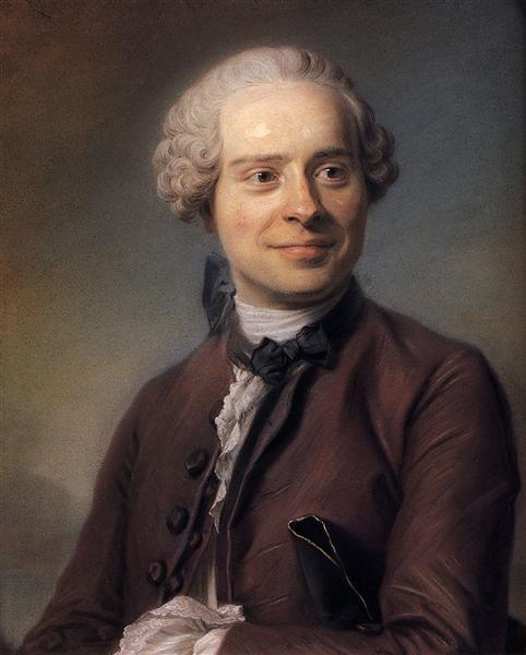 Jean Le Rond d'Alembert - Maurice Quentin de La Tour