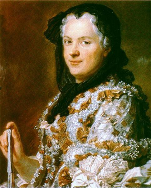 Portrait of Marie Leszczyńska, Queen of France, 1748 - Maurice Quentin de La Tour