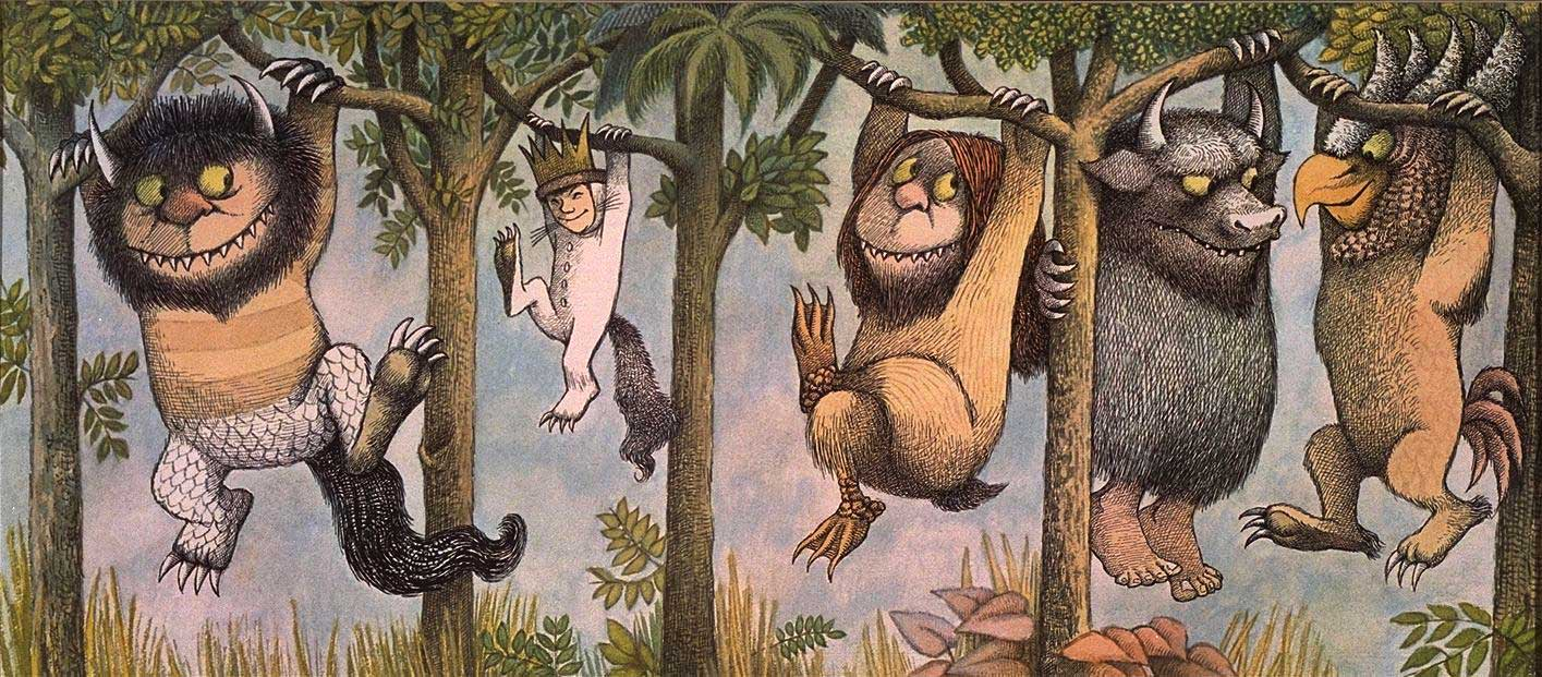 pics photos maurice sendak where the wild things are