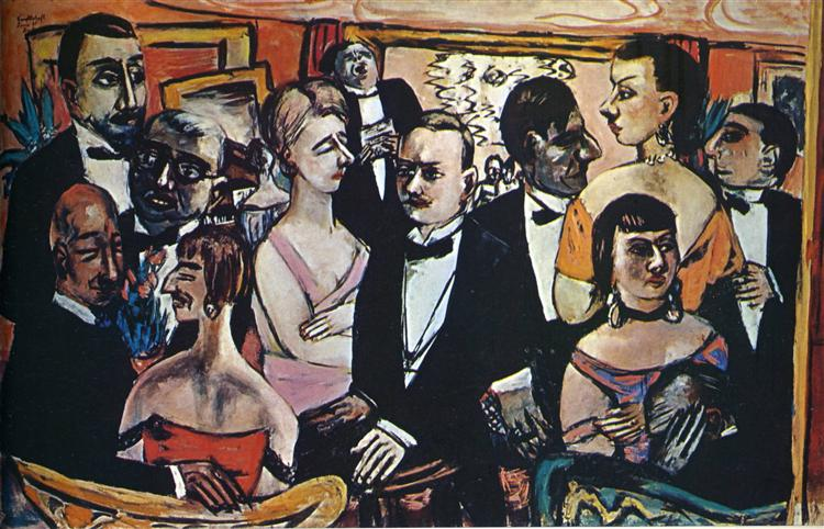 Party in Paris, 1931 - 1947 - Max Beckmann