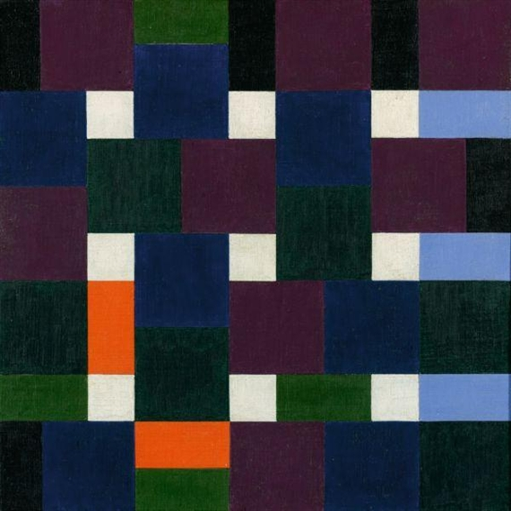Eight Colour Groups, 1947 - Max Bill
