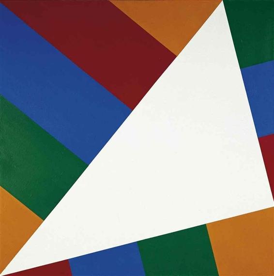 Pythagor 228 Isches Dreieck Im Quadrat Ii 1980 Max Bill