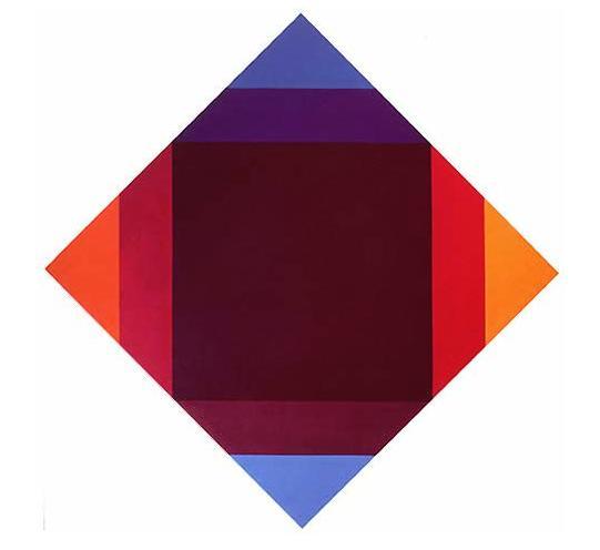 Verdichtung zu caput mortuum, 1973 - Max Bill