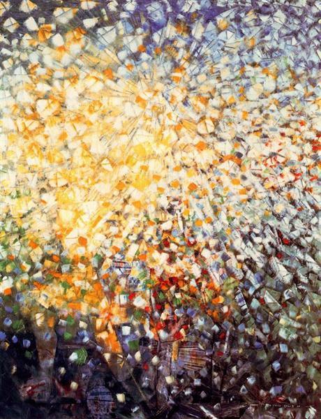 33 Little Girls Chasing Butterflies, 1958 - Max Ernst