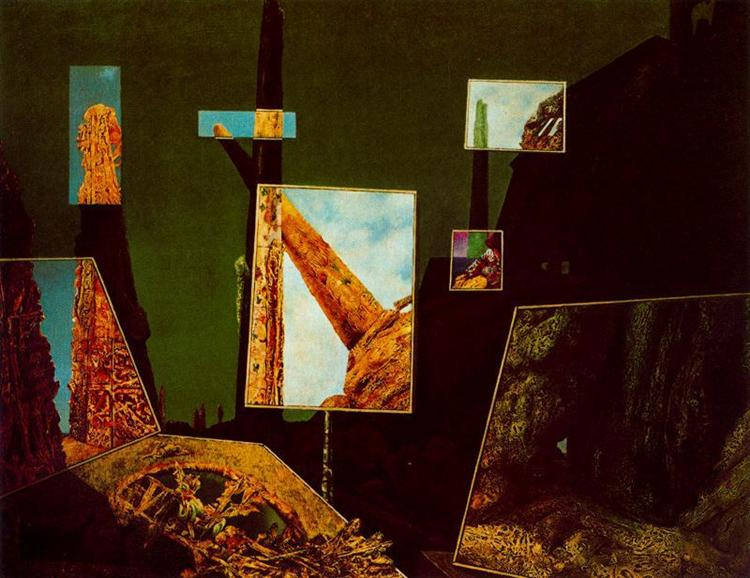 Day and Night, c.1941 - Max Ernst