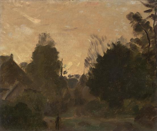 Sunrise, 1910 - Max Meldrum