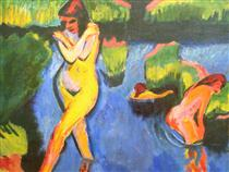 Bank of a Lake - Max Pechstein