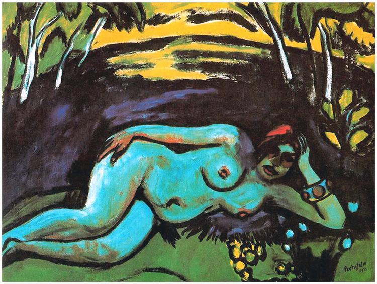 Dawn, 1911 - Max Pechstein