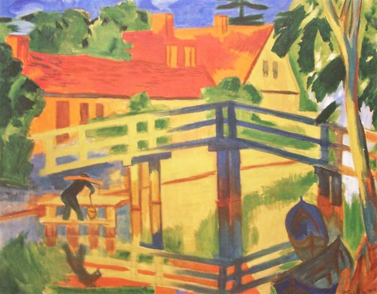 Leba, 1922 - Max Pechstein