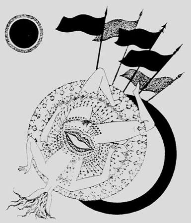 Illustrations for Les Illuminations by Arthur Rimbaud, 1958 - Max Walter Svanberg