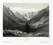 Lac de Gaube (Cauteretz (i.e. Cauterets)) - Максим Лаланн