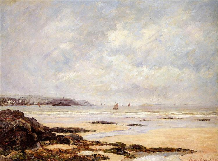 Low Tide at Douarnenez, 1908 - Maxime Maufra