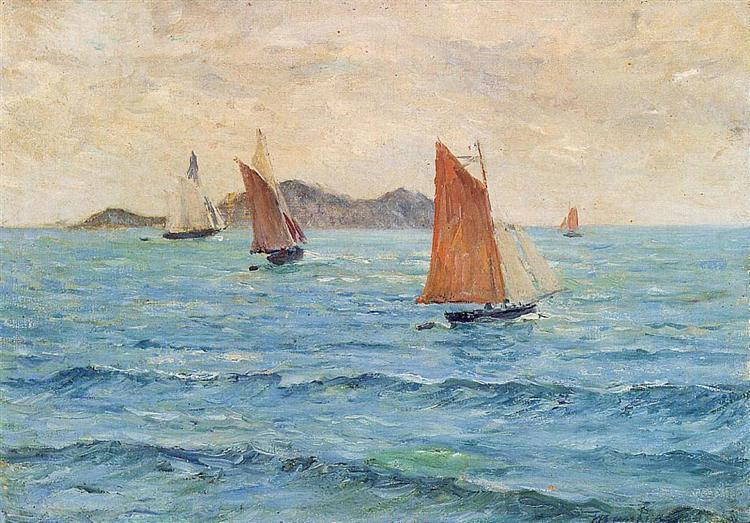 Sailboats - Maxime Maufra