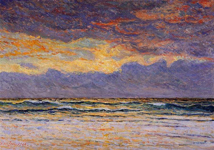 Sunset - Morgat, 1900 - Максим Мофра