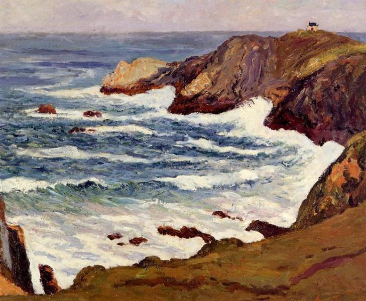 The Cove at Cape Suzon, 1898 - Maxime Maufra