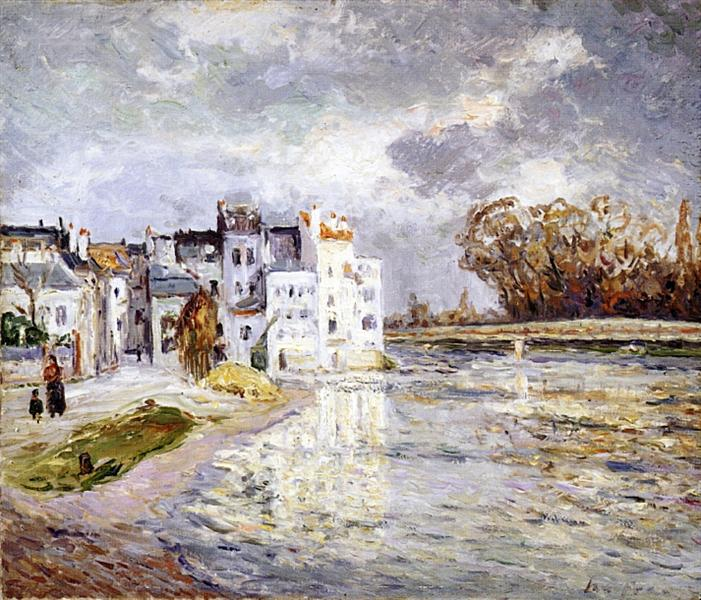 The Marne at Lagny - Maxime Maufra