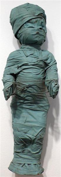 Wrapped Doll (cat's cradle), 1972 - May Wilson