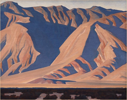Inyo Mountains, 1944 - Maynard Dixon