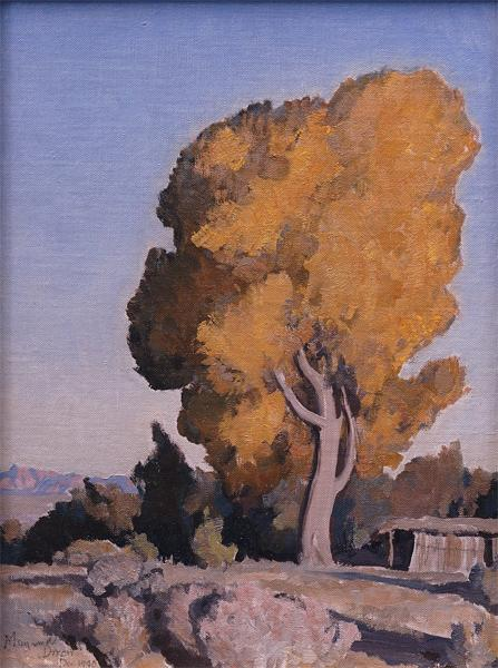 Low Country Cottonwood, 1940 - Maynard Dixon