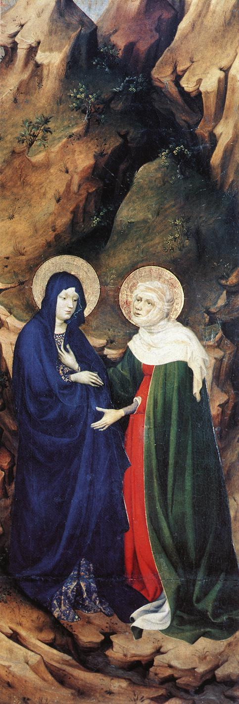 The Visitation (from Altar of Philip the Bold), 1399