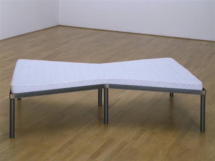Bed, 1976 - Michelangelo Pistoletto