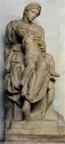 Medici Madonna, 1531 - Michelangelo