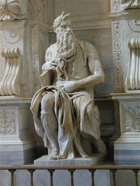 Moses, 1513 - 1515 - Michelangelo