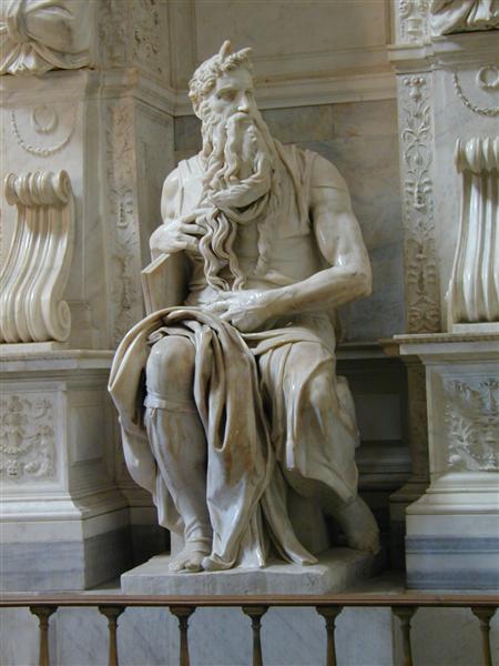 Moses; Michelangelo - famous statues