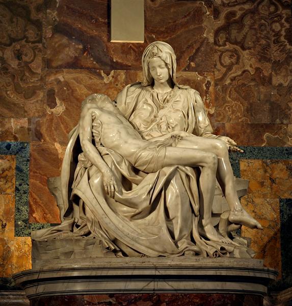 Pieta, 1499 - Michelangelo