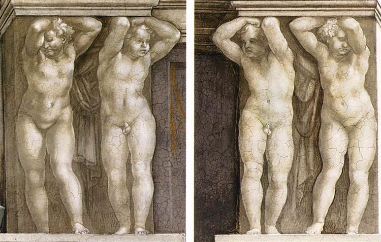 Putti, 1511 - Michelangelo