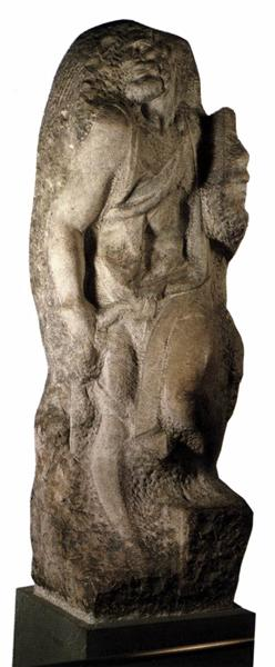 St. Matthew, c.1506 - Michelangelo