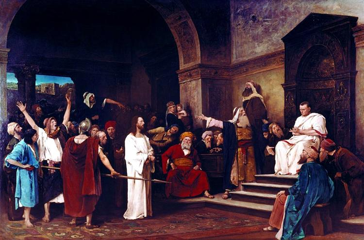 Christ before Pilate, 1881 - Mihaly Munkacsy