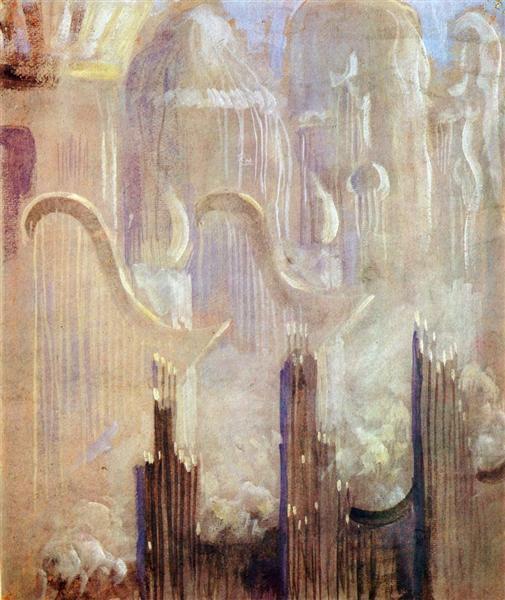 Creation of the World XI, 1906 - Mikalojus Konstantinas Ciurlionis