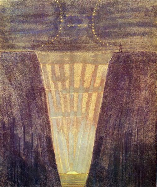 Gemini, 1907 - Mikalojus Konstantinas Ciurlionis