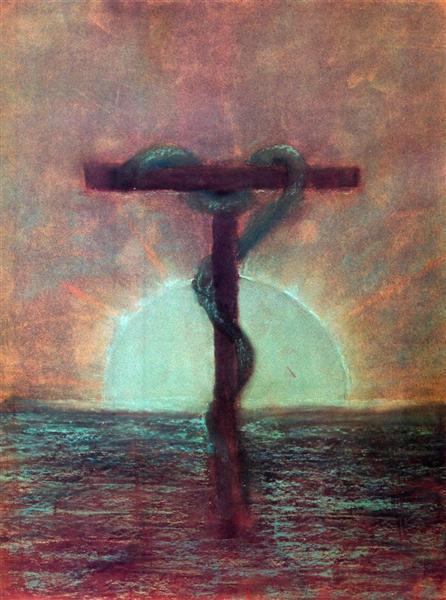 Vision, 1905 - Mikalojus Konstantinas Ciurlionis