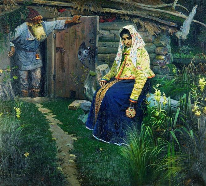 For the love potion, 1888 - Mikhail Nesterov