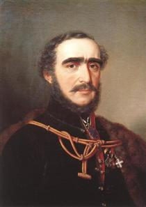 Count István Széchenyi - Miklós Barabás