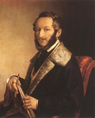 Self-Portrait, 1841 - Miklós Barabás