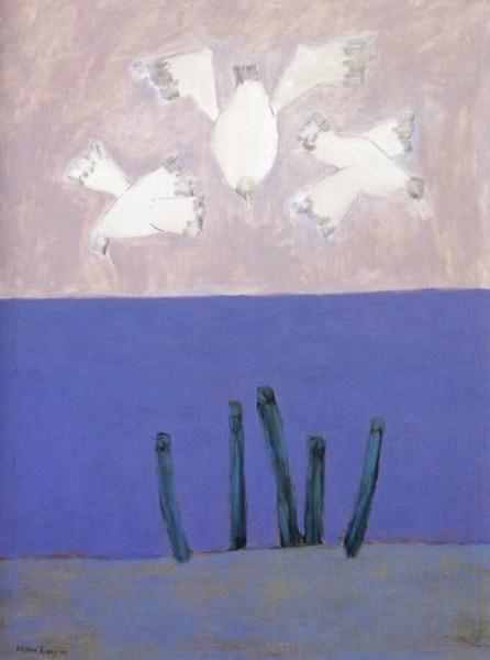 Birds Over Sky, 1957 - Milton Avery