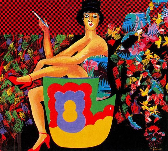 Ragtime - Miriam Schapiro