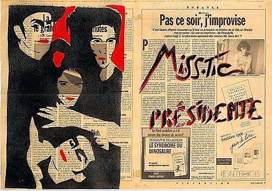MISS.TIC PRÉSIDENTE, 1987 - Miss.Tic