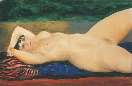 Kiki de Montparnasse, 1927 - Moise Kisling