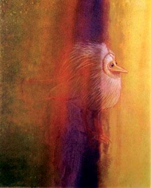 Bird Experiencing Light, 1969 - Morris Graves