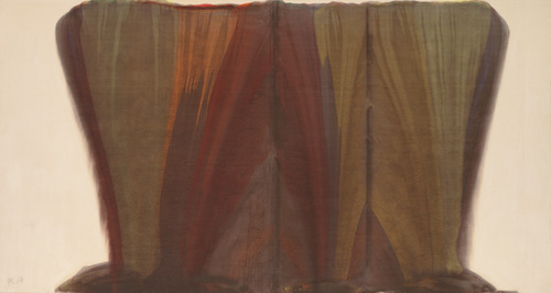 Russet, 1958 - Morris Louis