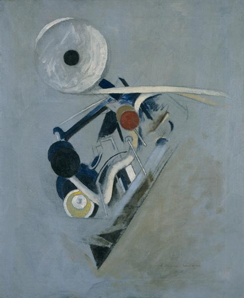 Painting VI, 1916 - Morton Shamberg