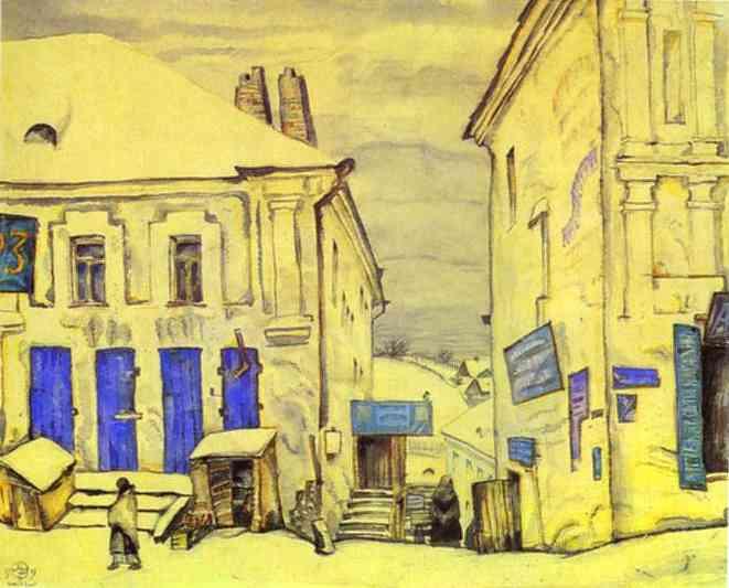 Vitebsk, 1919 - Mstislav Dobuzhinsky